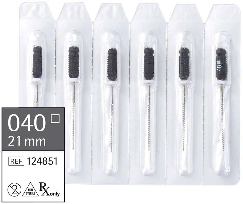smart K-Feilen  Packung  6 Stück 21 mm ISO 040