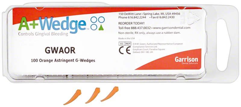 A+Wedge  Packung  100 Stück orange