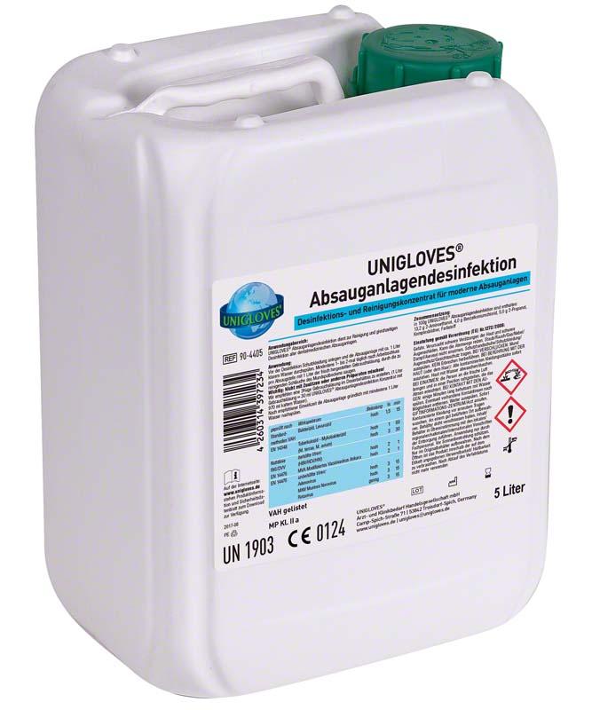 ABSAUGANLAGENDESINFEKTION  Kanister  5 Liter