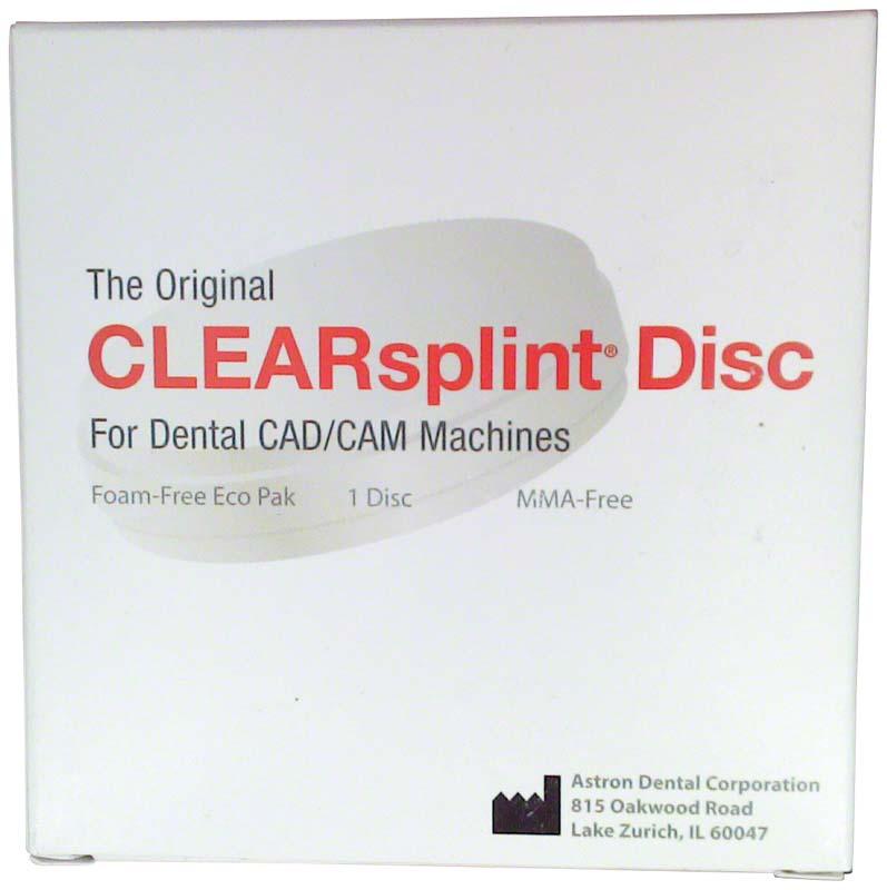 astron® CLEARSPLINT® Disc  Stück  98 x 20 mm, mit Schulter